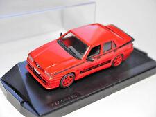 Alfa Romeo 75 evoluzione evo evolution rot rouge rosso red, Progetto 1:43 boxed