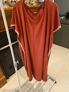 Joseph Ribkoff Terracotta Dress Size L EXCELLENT CONDITION!