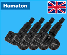 HAMATON TPMS TYRE PRESSURE HYBRID 3.5 VALVE SENSORS X4 BMW (GLOSS BLACK)