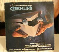 Gremlins Music of Soundtrack LP Geffen GHSP24044 1984 Cover G+ Vinyl VG+