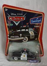 Disney Pixar Cars Supercharged Series Sheriff Die Cast Car NEW Mattel 2007