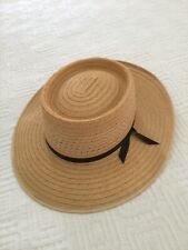 AKUBRA Planter straw HAT as NEW 54cm
