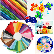 40pcs Acrylic Blend Felt Non-woven Fabric Mix Color DIY Craft Quilting 30*20cm K