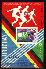 Uruguay Vignette Fußball postfrisch
