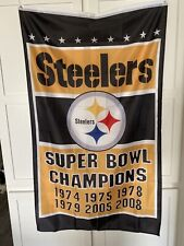 Pittsburgh Steelers Super Bowl Champions FLAG 3'X5'