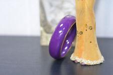 Bracciali di bigiotteria rigidi viola
