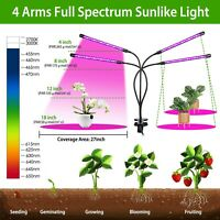 LED Grow Light Plant Growing Lamp Full Spectrum for Indoor Plants Hydroponics
