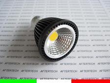 10x COB GU10 5w LAMPADINA LED 120° BIANCO CALDO 220V FARETTO DICROICA
