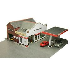 Metcalfe PO281 Service Station Die Cut Card Kit 00 Gauge = 1/76th Scale T48 Post