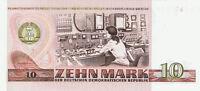 10 MARK GELDSCHEIN PAPIERGELD DDR GELD OST GELD 1971 BM 0801668 GDR