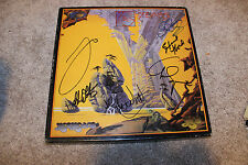 YES Yesyears CD box set hand signed by 6 classic members Jon, Chris, Rick, Alan