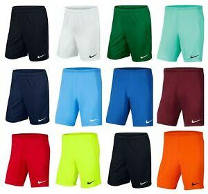 Nike Mens Football Shorts Dri-Fit Park III Shorts Gym Training Sports Running