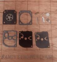 Genuine Zama RB-61 Carburetor Repair Kit C1M-K37A C1M-K37B C1M-K37C C1M-K37D