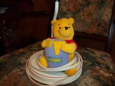 Winnie the Poo lamp plush good condition no shade aprox 12 inch