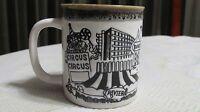 Vintage Souvenir Coffee Cup Las Vegas Nevada Hotels Dunes Stardust Circus MGM