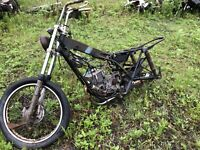 1988 harley-davidson Aerramachi Ss175 Parts Bike/frame No Title
