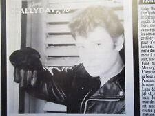 NITRO 35 AVRIL 1984: JOHNNY HALLYDAY BE GOOD - RICHARD PETTY - VW COCCINELLE -.