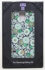 NEW CO8938 Anna Sui Samsung Galaxy S5 Green Daisy Designer Cell Phone Case Cover