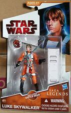 """Star Wars Saga Legends LUKE SKYWALKER Legacy Collection 3.75"""" Action Figure SL17"""