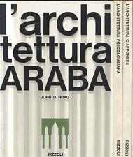 LE GRANDI CIVILTà ARCHITETTONICHE 4 volumi cofanetto 1963 Rizzoli araba cinese *