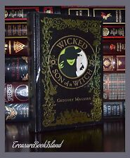 Wicked & Son of a Witch by Gregory Maguire New Sealed Leather Bound Collectible