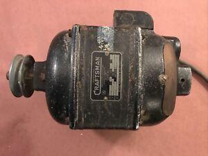 """Craftsman Leland 1/2 HP 115/230 V Motor 1725 RPM 5/8"""" shaft."""