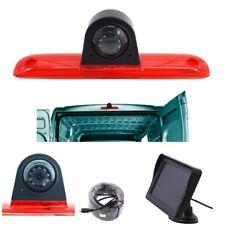 Komplettset Rückfahrkamera 4,3 Monitor für Jumper Ducato Boxer 3. Bremsleuchte