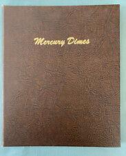 Dansco Mercury Dimes Album #7123 1916-1945