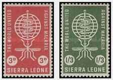 Timbres Santé Médecine Sierra Leone 211/2 * lot 22470