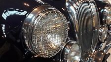 Daimler Jaguar Mk1 Mk2 Stainless Steel Headlamp Stone Guards Protectors Pair