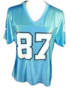 Indianapolis Colts #87 REGGIE WAYNE NFL Team Apparel Jersey Womens Large WL1
