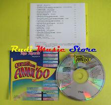 CD RED RONNIE favolosi anni 60 1966 1 ROKES NOMADI MORANDI POOH*DALLA*(C11)**