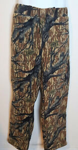 Browning Hydro Fleece Camo Pants XL Lined Quiet Hunting Fishing Outdoors