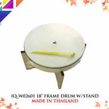 """IQ-PLUS IQ-W026101 18"""" Frame Drum With Stand"""