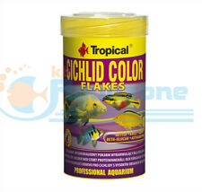 CICHLID COLOR FLAKES 20g TUBE or 50g TUBE TROPICAL