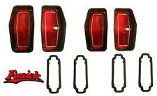 1970 Olds Cutlass Rallye 350 Tail Light Lens & Gasket Set Oldsmobile 70