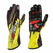 OMP Racing Karting Racing Gloves KS-2 ART yellow - size M