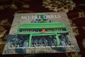 John Deere No-Till Planters For 1998 Brochure FCCA