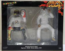 1/12 Valentino Rossi & Angel Figuries GP 250 Rio De Janeiro 1999 Minichamps