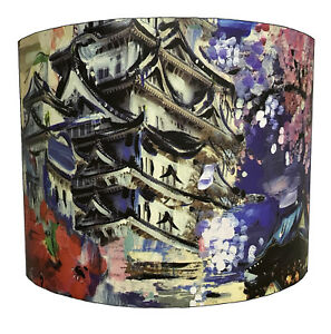 Lampshades Ideal To Match Oriental Cushions, Oriental Curtains & Oriental Duvets