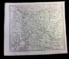 SOUTHERN PART OF RUSSIA or MUSCOVY IN EUROPE 1794. UKRAINE, CRIMEA