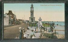 """Herne Bay Clock Tower & Fountain, Valentine's Series """"Crystoleum"""" DA.33"""