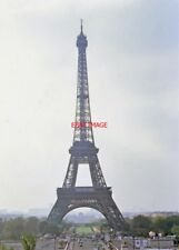 PHOTO  EFFIEL TOWER PARIS 1987