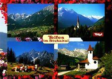 Telfes im Stubaital , Tirol , Ansichtskarte , 2003 gelaufen