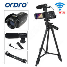 3'' LCD HD 1080P 24MP 16x DIGITALE zoom WI-FI VIDEO TELECAMERA DV FOTOCAMERA MIC