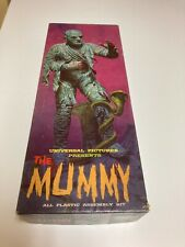 Aurora The Mummy 1963 Model Kit Complete with Instructions Great Condition