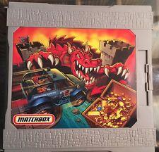 Matchbox Cars Dragon Castle Pop Up Carry Case Playset Toy 2005 Mattel Pretend