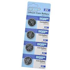 4-Pack Coin Battery for Mercedes-Benz C240 CLK320 E320 1999-2005 Transmitter Key