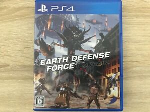EARTH DEFENSE FORCE: IRON RAIN Sony Playstation 4 PS4 From Japan Tracking USED