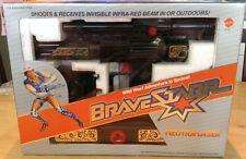 Bravestarr Neutra-Laser Sealed Toy Gun Cosplay Figure Accessory Mattel 1986 MIB